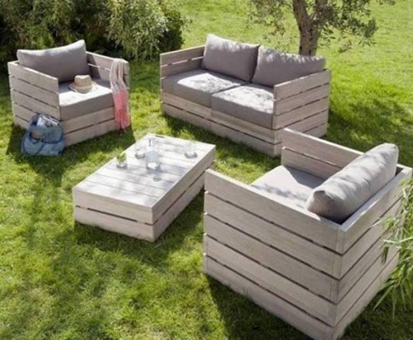 Muebles reciclados diseño ecológico