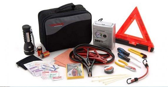 El kit de emergencia puede ayudarte a resolver imprevistos en la ruta.