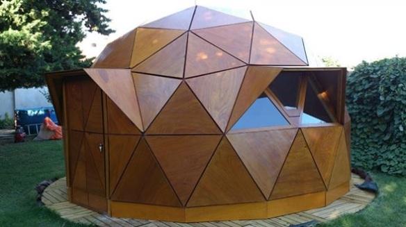 El domo geodésico es uno de los tipos de casas más atractivos.