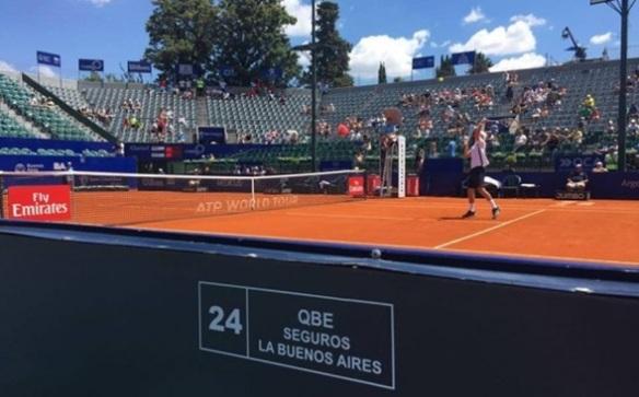 QBE Seguros se presentó nuevamente en el Argentina Open.