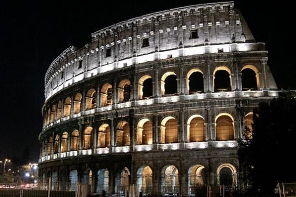 Coliseo Romano, el sitio más visitado de Italia.