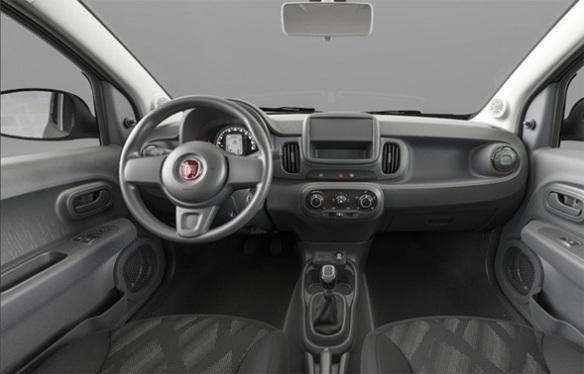 El Fiat Mobi utiliza la misma plataforma del actual Uno.